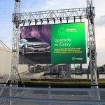 advertising-modular screen