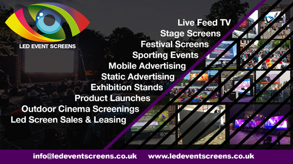 Selby Led Event Screen Hire