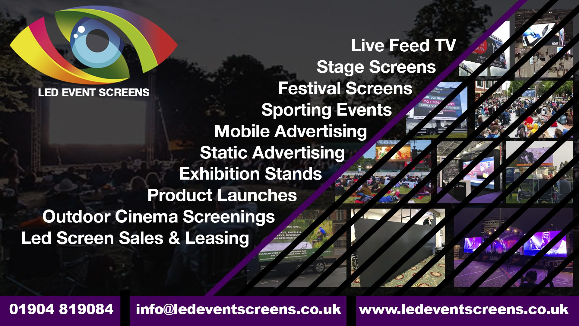Led Event Screen Hire – Led Advertising Screens